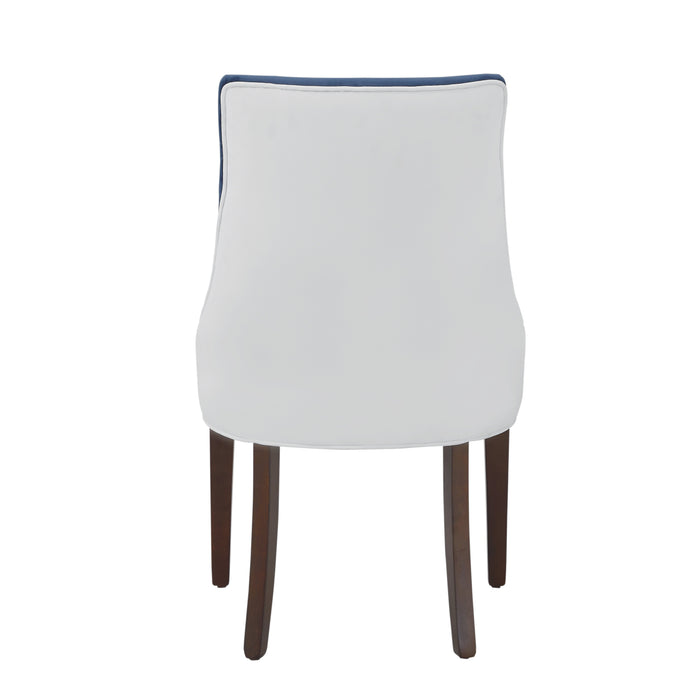 Jolie Upholstered Dining Chair -Navy Blue