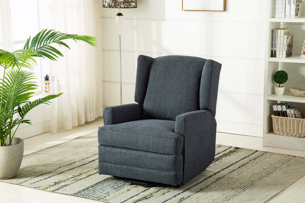 Connoly Blue Wingback Lift Chair