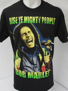 Bob Marley Rise Ye Mighty People T-Shirt