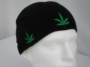 Cannabis Multi Leaf Beanie