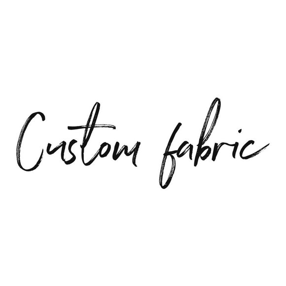 Custom Fabric Bow