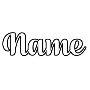 Name Decal 4