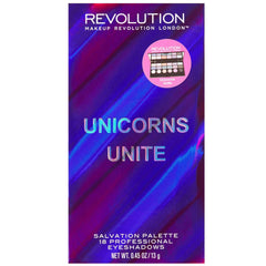 orabelca:Makeup Revolution - Salvation Palette - Unicorns Unite