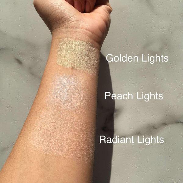 orabelca:Makeup Revolution - Vivid Baked Highlighter- Golden Lights