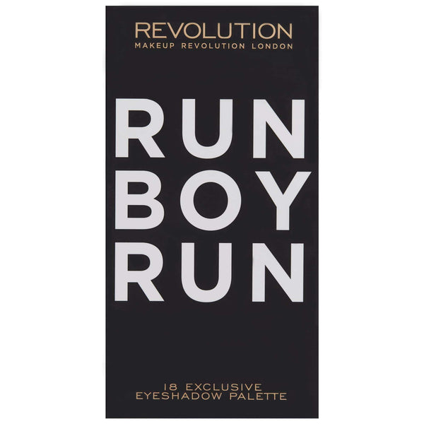 orabelca:Makeup Revolution - Salvation Palette - Run Boy Run