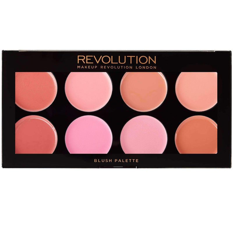 Makeup Revolution - Blush Palette - Blush Meltsorabelca