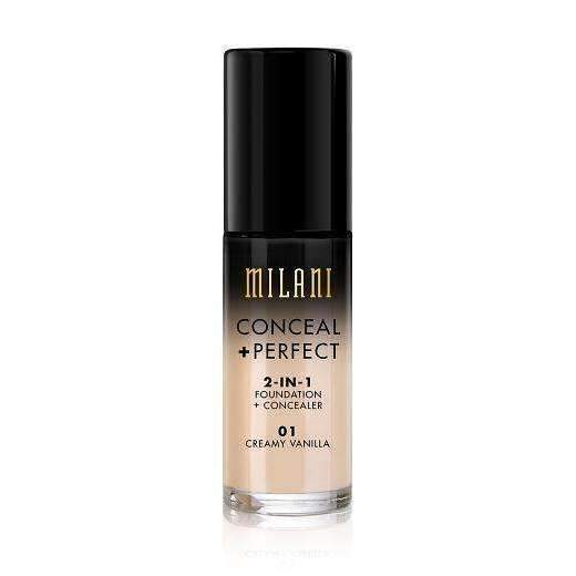 Milani - Conceal + Perfect 2 in 1 Foundation + Concealerorabelca