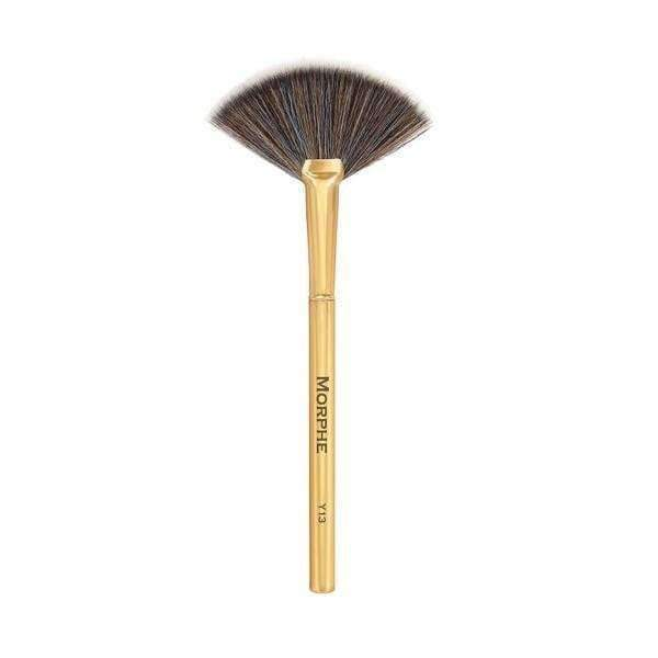 orabelca:Morphe - Pro Highlight Fan - Gilded Collection - Y13