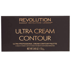 Makeup Revolution - Ultra Cream Contour Paletteorabelca