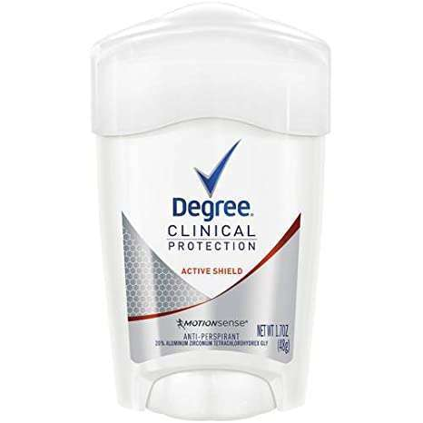 Degree Women Clinical Antiperspirant Deodorant Cream Active Shieldorabelca