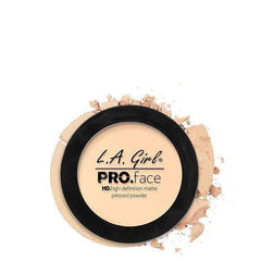 orabelca:L.A. GIRL Pro Face Matte Pressed Powder,Fair