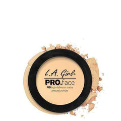 orabelca:L.A. GIRL Pro Face Matte Pressed Powder,Classic Ivory