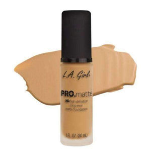 L.A. Girl Pro Matte FoundationNaturalorabelca