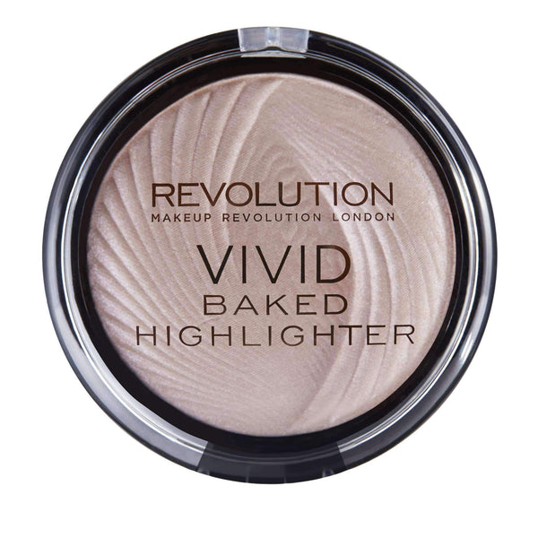 orabelca:Makeup Revolution - Vivid Baked Highlighter,Peachy Lights