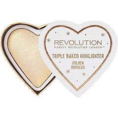 orabelca:Makeup Revolution - Triple Baked Highlighter