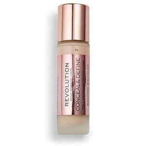 Makeup Revolution Conceal & Define Full Coverage FoundationF4orabelca