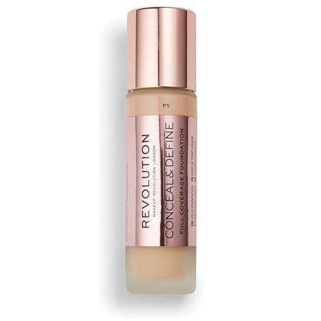 Makeup Revolution Conceal & Define Full Coverage FoundationF5orabelca