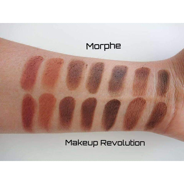 Makeup Revolution HD Palette Matte Amplified 35 Inspirationorabelca