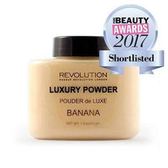 orabelca:Makeup Revolution - Luxury Banana Baking Powder