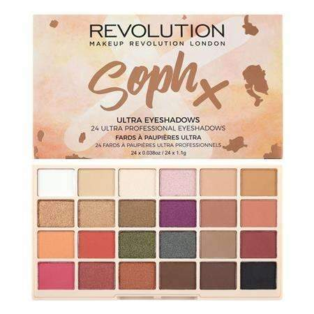 Makeup Revolution Soph Eyeshadow Paletteorabelca