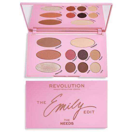 Makeup Revolution The Needs Emily Editorabelca