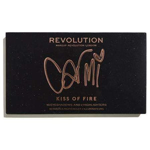 Makeup Revolution X Carmi Kiss Of Fire Paletteorabelca