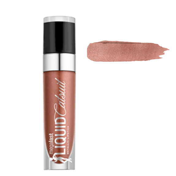 Wet n Wild Megalast Liquid Catsuit Metallic LipstickRide On MyCopperorabelca