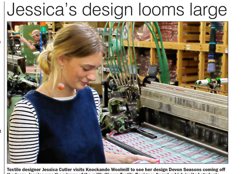 Jessica's Design Looms Large