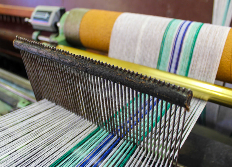 In Production - Tartan Inspired Lambswool Scarves