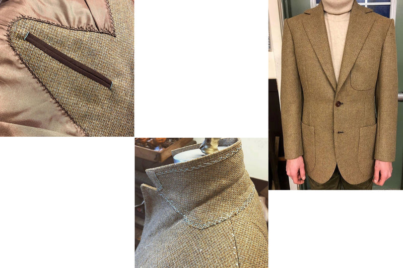 'Lochnagar' Tweed Jacket
