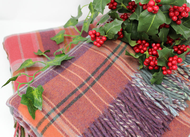 Delivery Information + 25% off Tartan Throws
