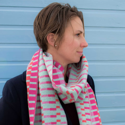 Scarf - Pink Check