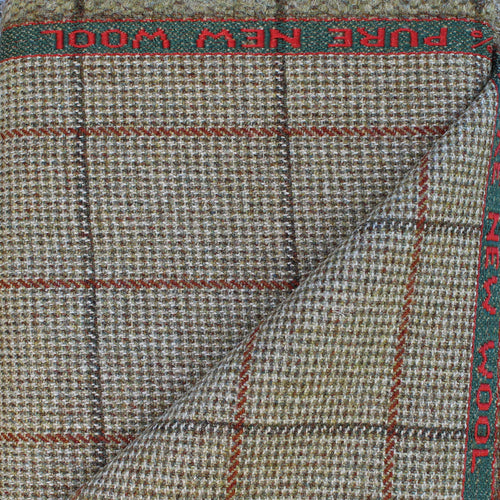 Strathspey Tweed Fabric Woven in Scotland