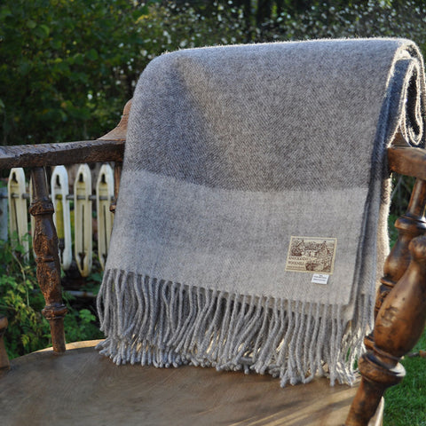 Whisper of Cashmere - Highland Sky Throw