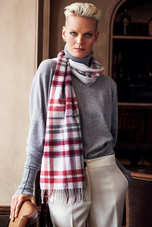 Whisper of Cashmere - Highland Warmth Scarf