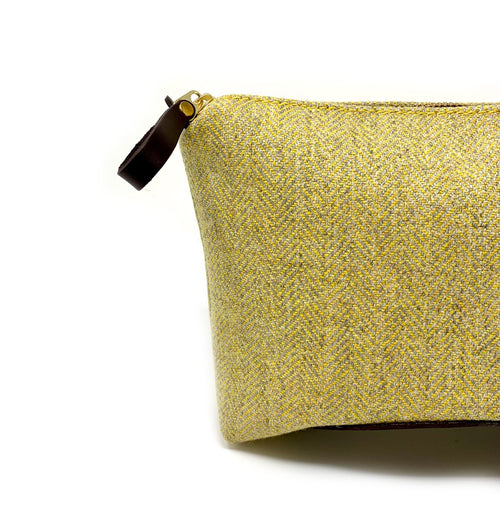 Luxury Highland Sunshine Large Travel Pouch