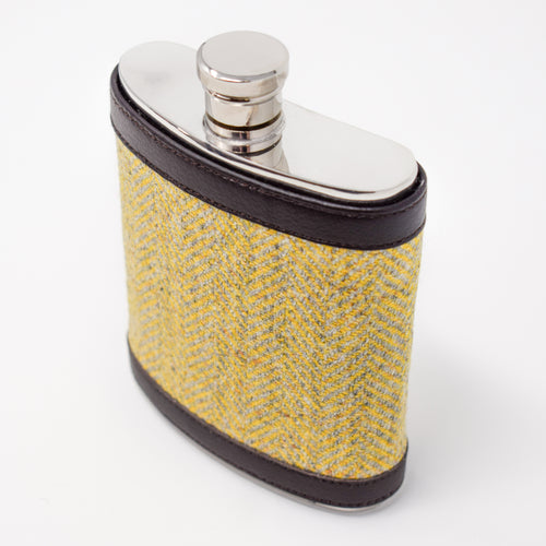 Highland Sunshine Hip Flask