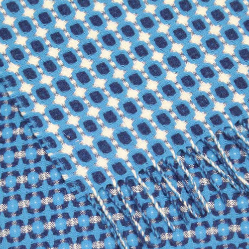 Scarf - Honeycomb (Ocean & Midnight)