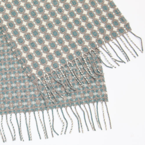 Super soft Geelong teal scarf