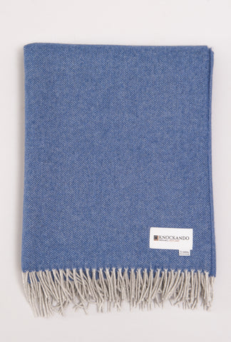 Whisper of Cashmere - Highland Sky Scarf