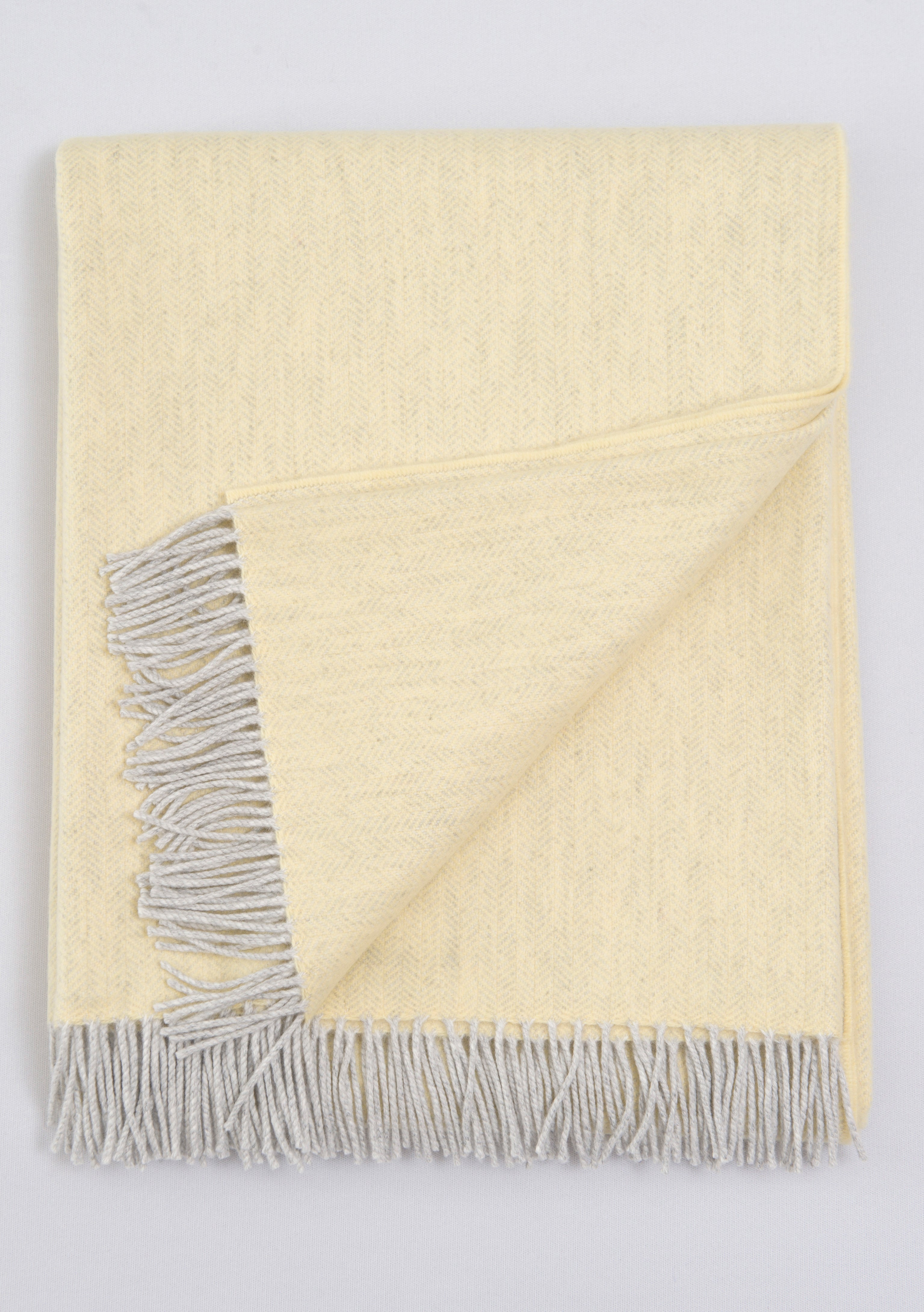 Whisper of Cashmere - Highland Sunshine Throw