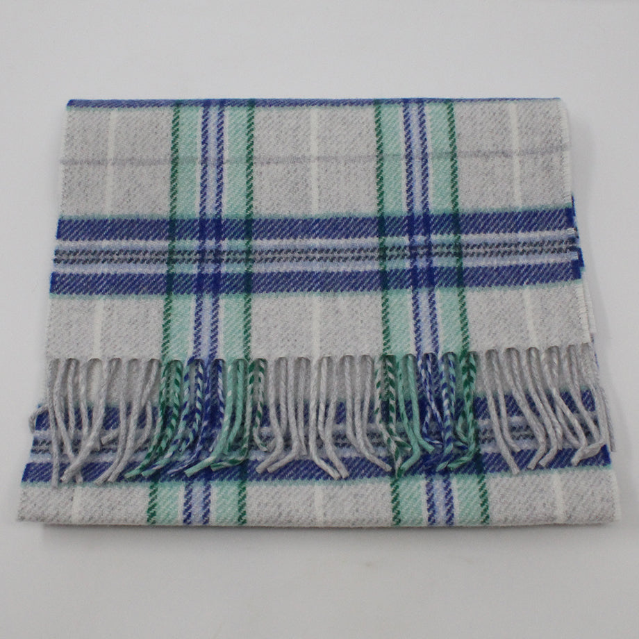 Green Check Scarf