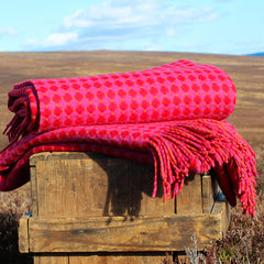 Double sided Geelong lambswool blanket