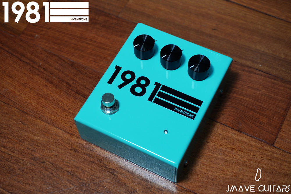 1981 Inventions DRV Black on Teal