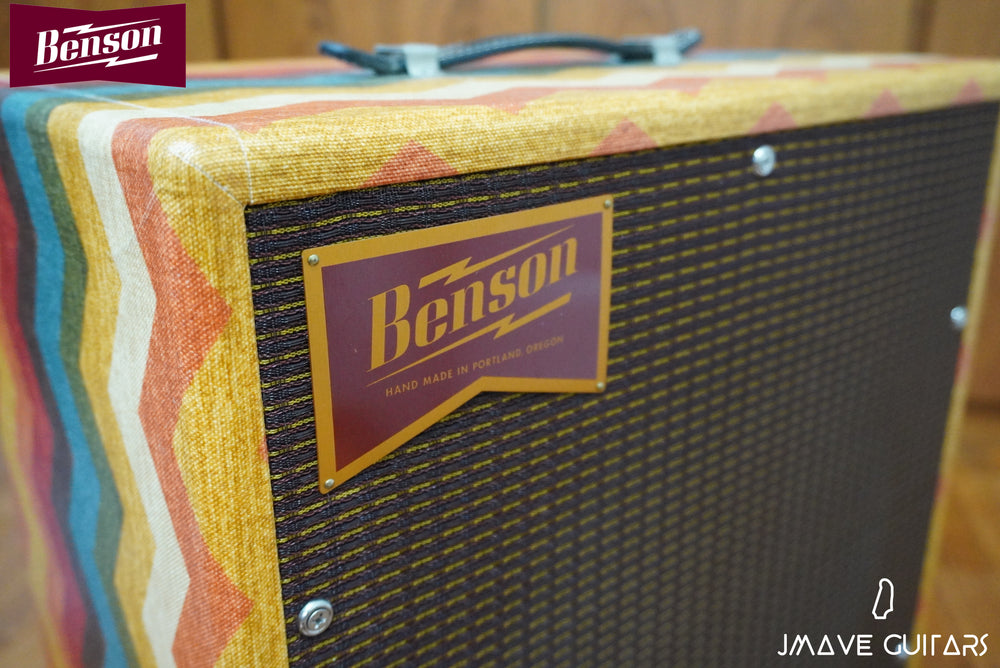 Benson Amps Earhat Cabinet 1 x 12 in Old Mexican Finish
