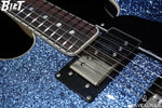BilT Guitars Volare Blue Sparkle