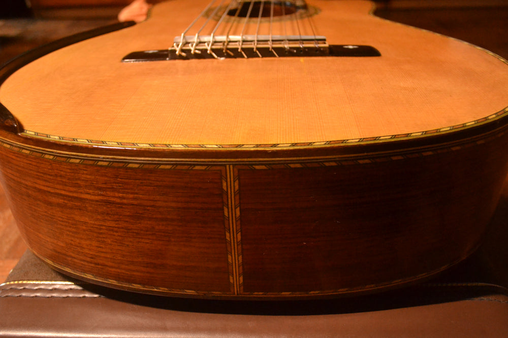 Solid Brazilian/Spruce Handmade Classical 10-String Guitar