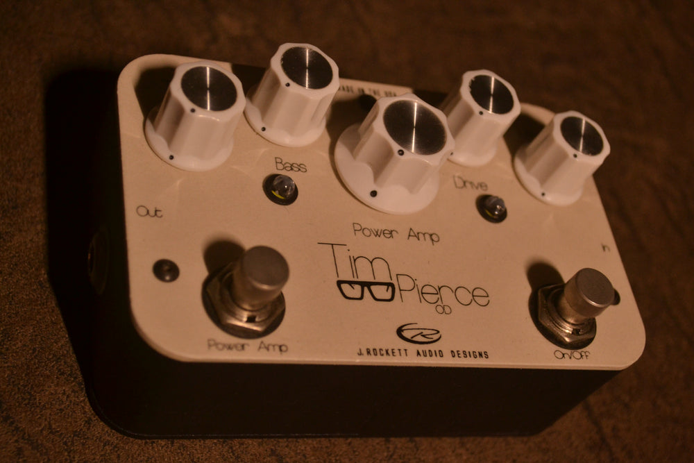 J. Rockett Tim Pierce Signature Overdrive and Power Amp