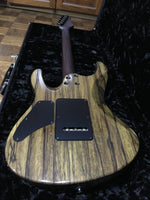 Suhr Custom Modern Private Stock Wood Black Limba/Cocobolo*Used*