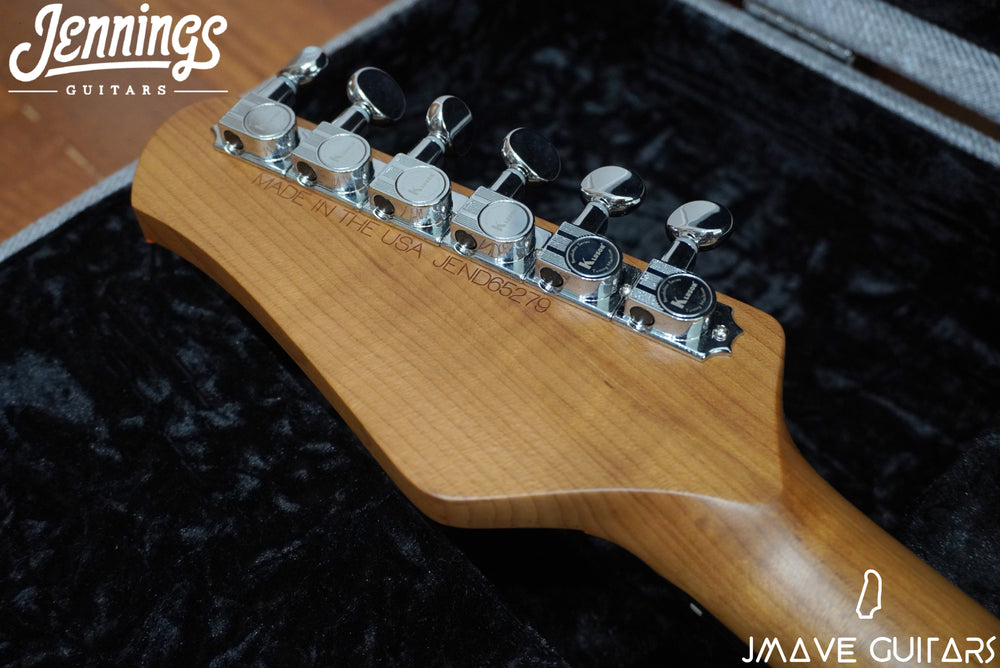 Jennings Guitars Navigator Custom-Hollow Orange/Blue